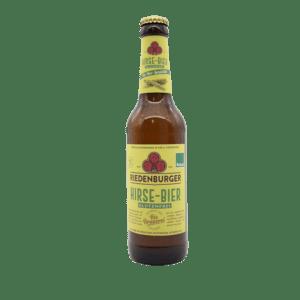 Bio Hirse-Bier / Riedenburger / Glutenfrei / 4,5% vol. / 0,33L